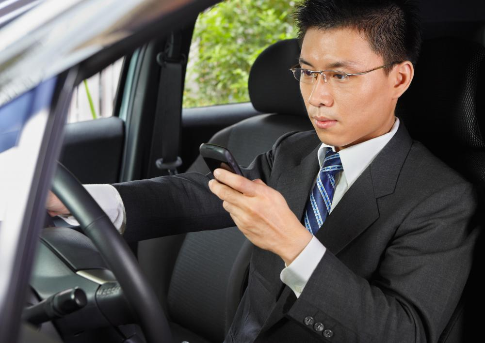 In traffic school, students learn that texting while driving is dangerous and possibly illegal.