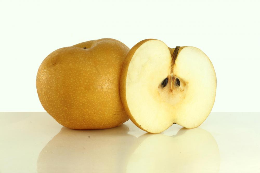 Asian pears are similar in taste and crunch to apples.