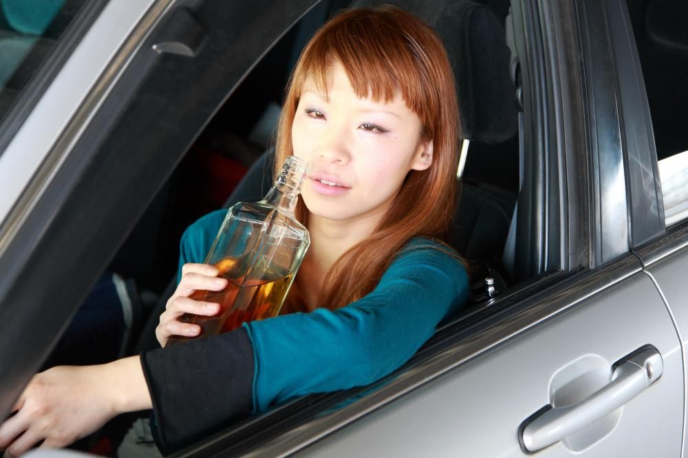 Someone who drives under the influence may be convicted of a 3rd degree felony.