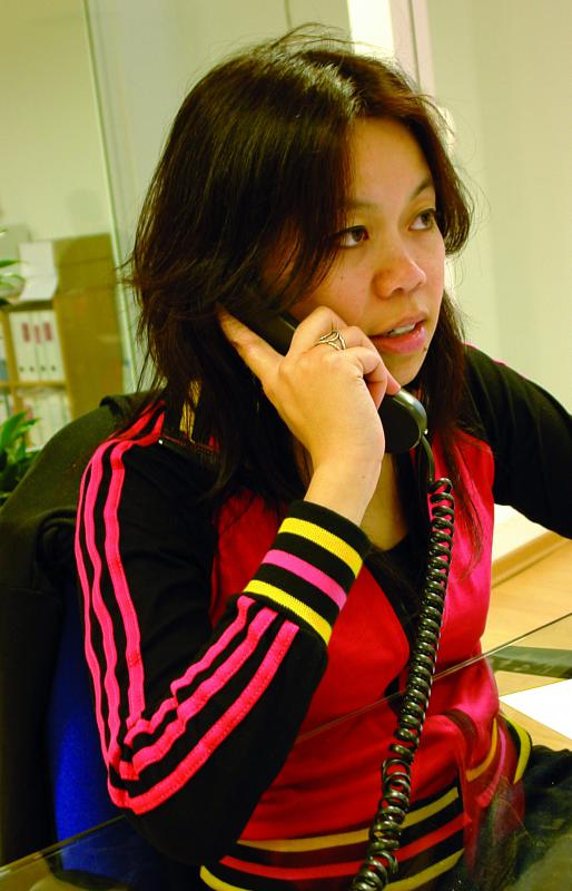 Office receptionists must be able to communicate effectively on the phone.