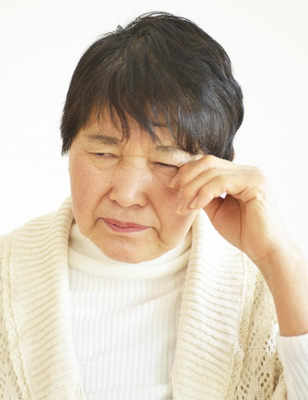 Cataracts are one of the leading causes of vision impairment in elderly people.