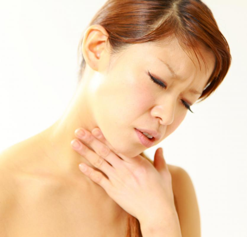 A sore throat is common following an intubation procedure.