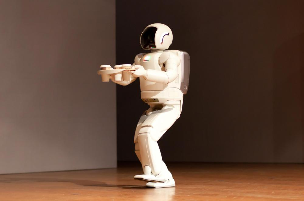 Android, or humanoid, robots are designed to emulate the look, physique, and behavior of humans.