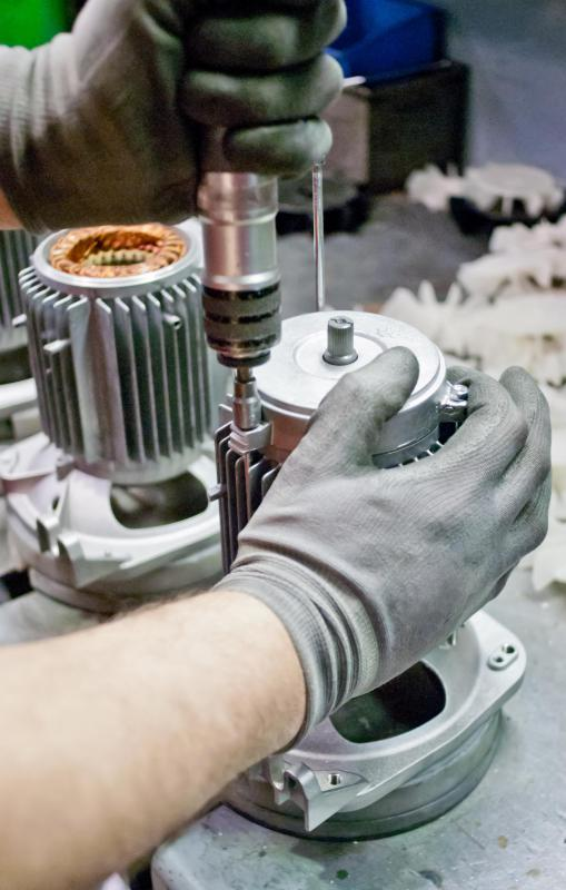 A fabricator is responsible for connecting various parts together to form a strong structure.