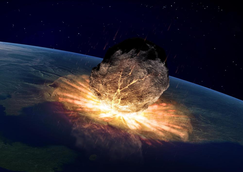 recent asteroid meteor hitting earth - photo #14