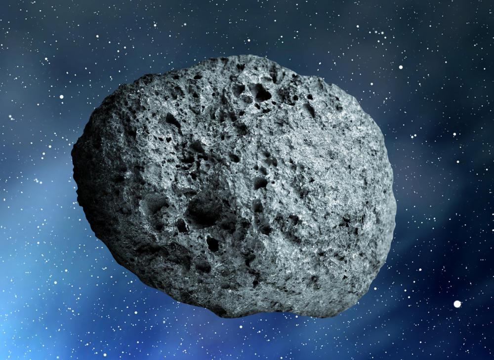 asteroid in space-#2