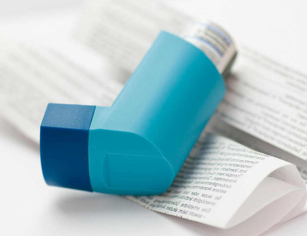 Asthma as related to bronchodilators pictures