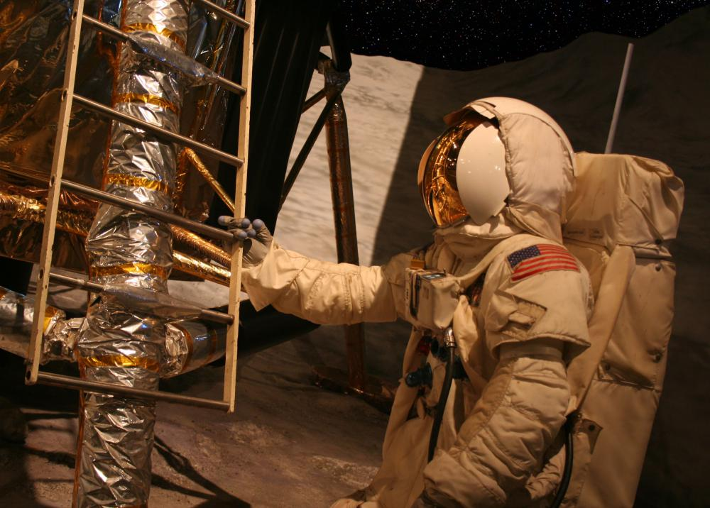 Astronauts must wear special suits during launches and when in space.