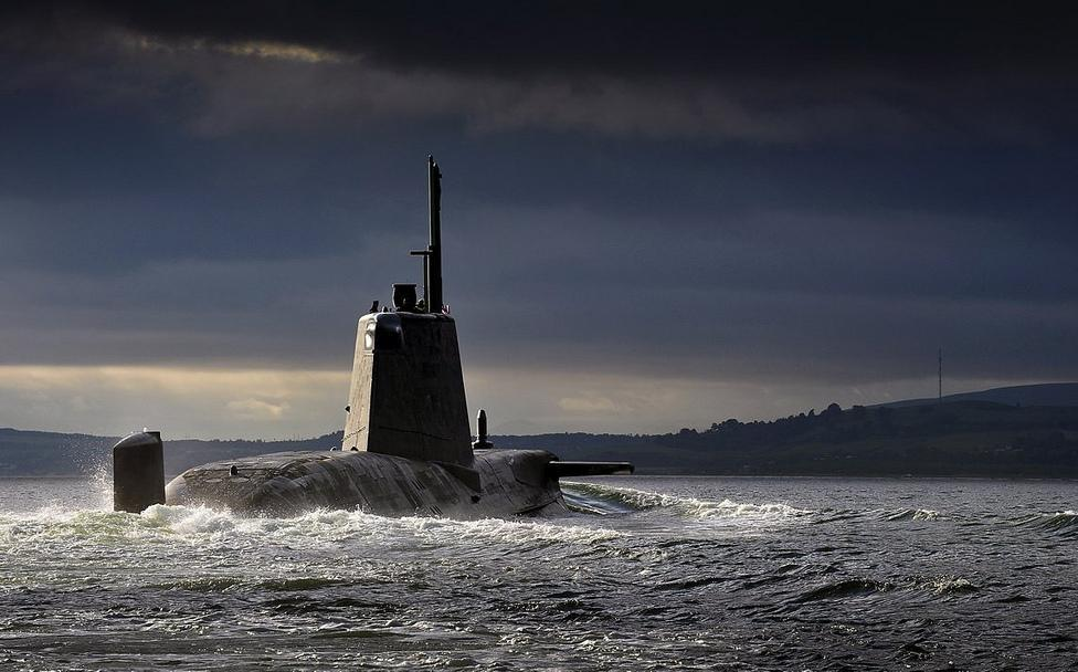 Since the goal of ballistic missile submarine such as the British Astute class is to be a platform for nuclear weapons, they almost always run silently and do not engage in fleet actions.