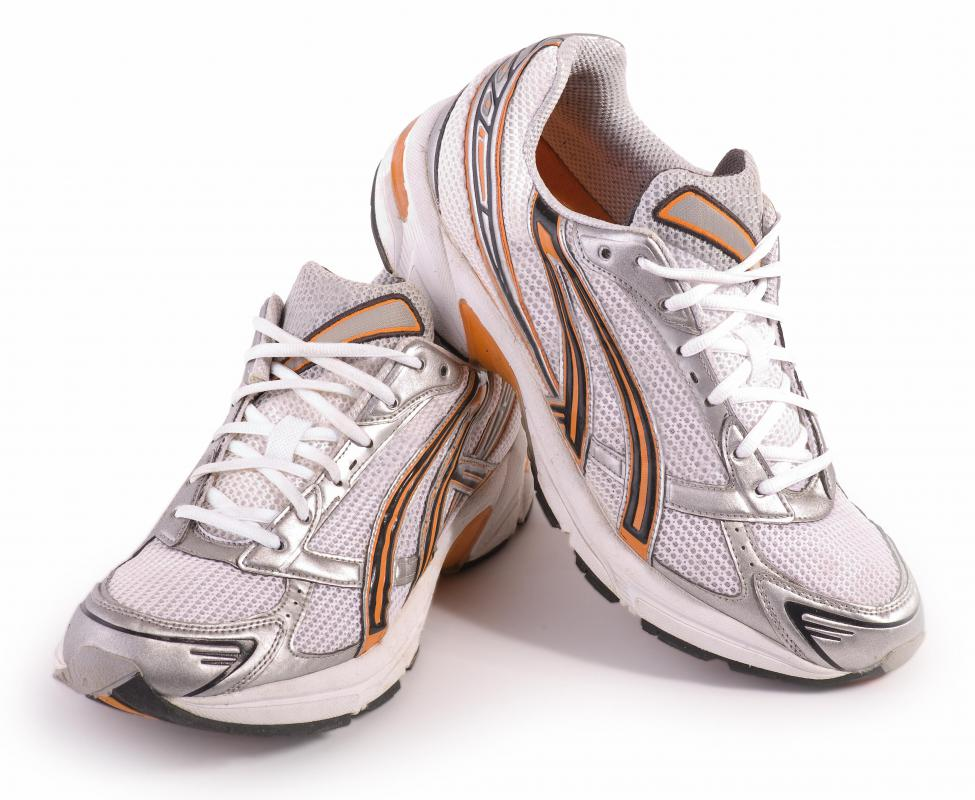 Plus size women's running shoes.