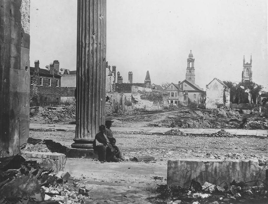 "General William Sherman's ""March to the Sea"" left a path of destruction through Georgia in 1864."