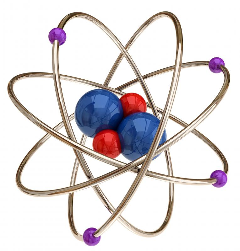 Electrons, together with protons and neutrons, form atoms.