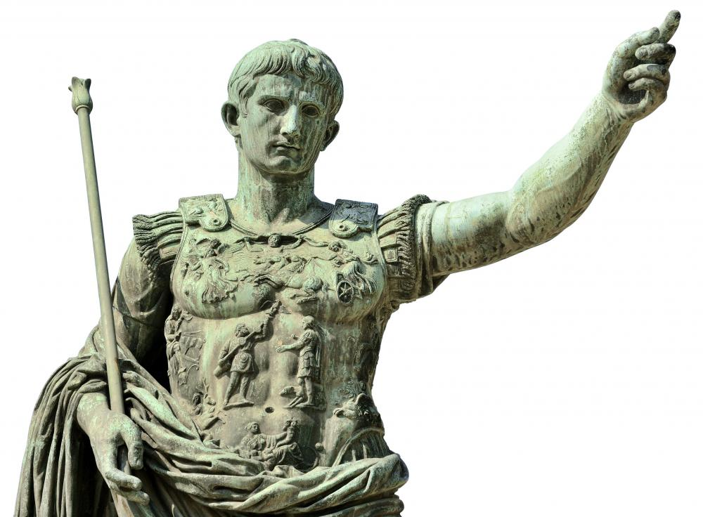 Augustus Caesar, the first Roman emperor.