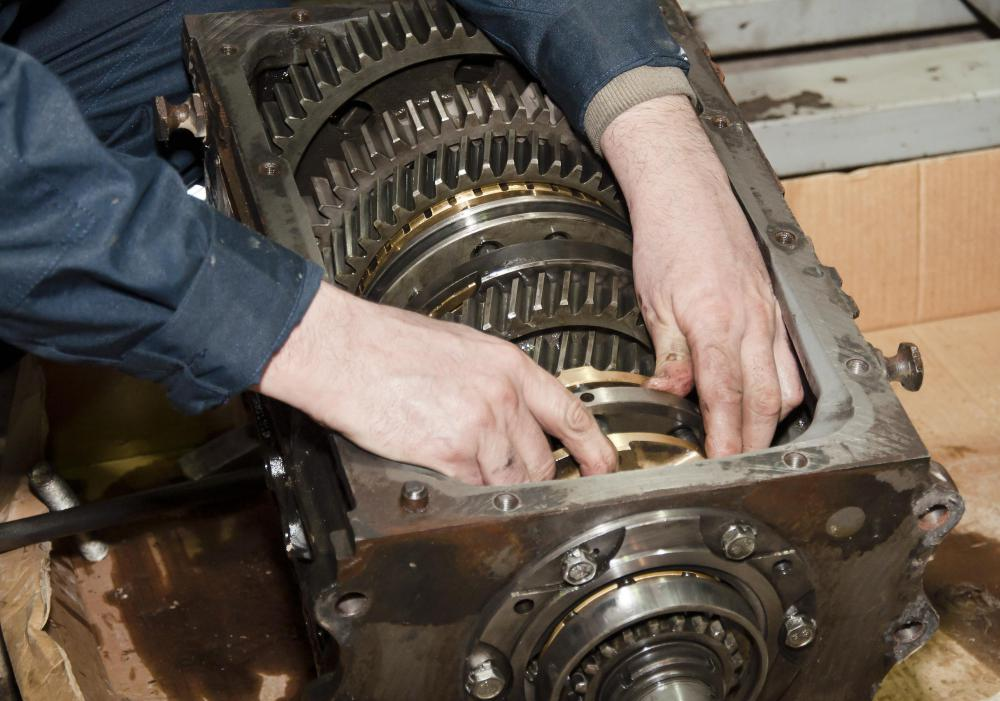 Transmission repairs often require an engine hoist.