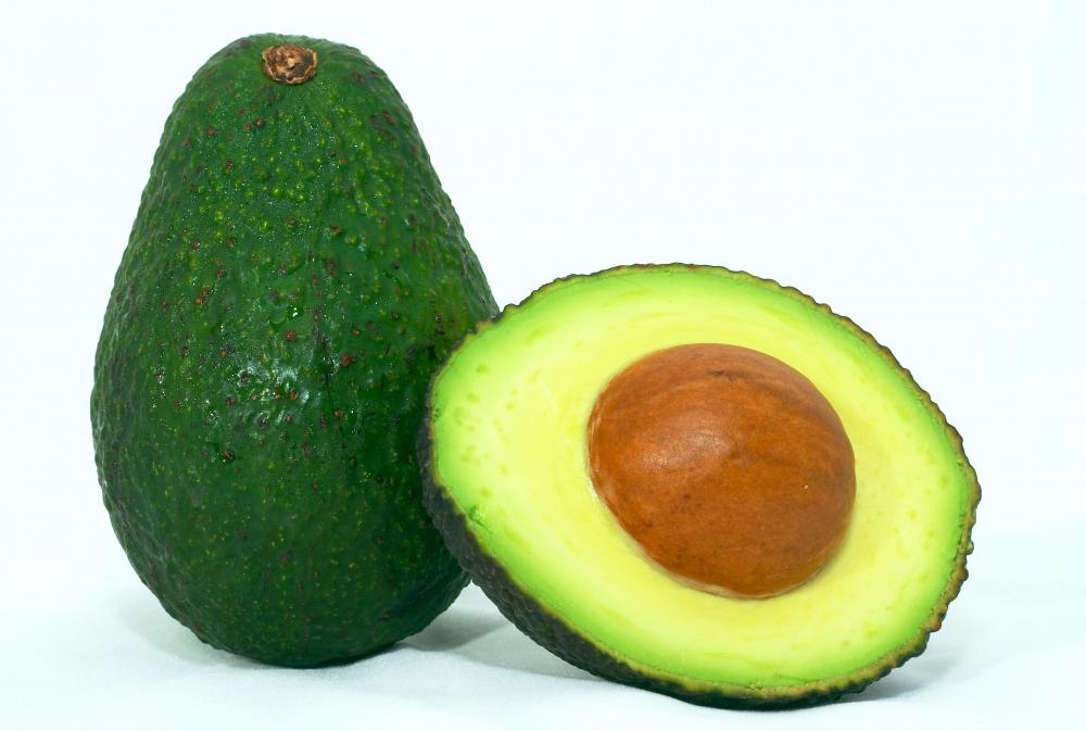 Avocados are high in iron and contain heart-healthy fat.