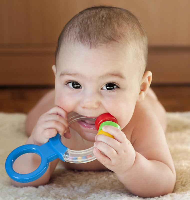 Teething causes mild to severe pain in infants.