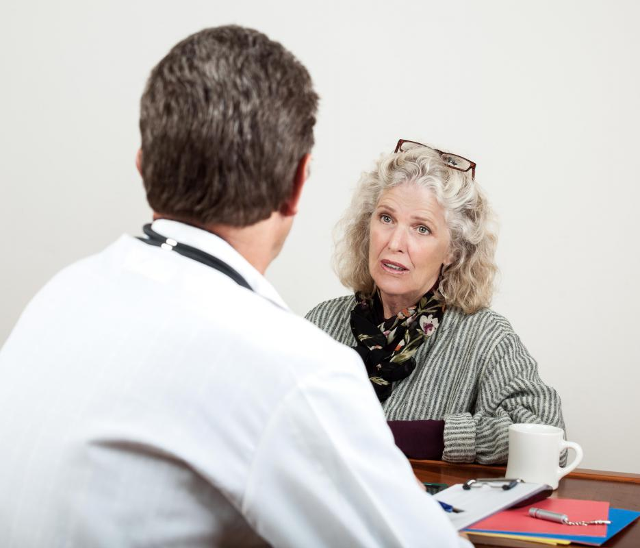 Hormone replacement therapy can help regulate mood during menopause.