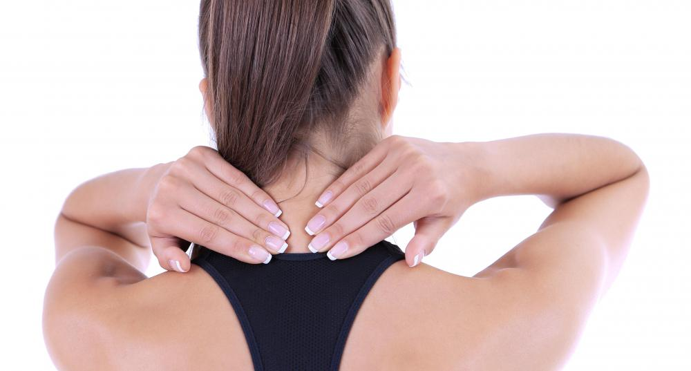 Posture exercises may help reduce pain and stiffness in the neck.