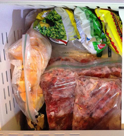 Proper storage and temperature control will help prevent foods from becoming freezer-burned.
