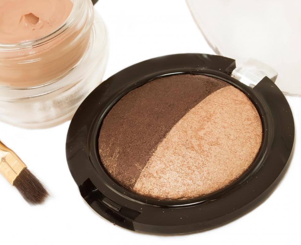 Bronzer should be used in moderation.