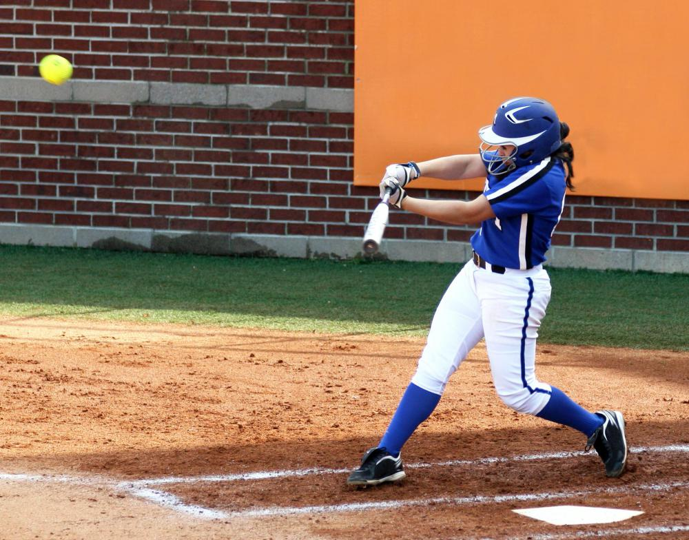 College softball teams have specialized hitting coaches.