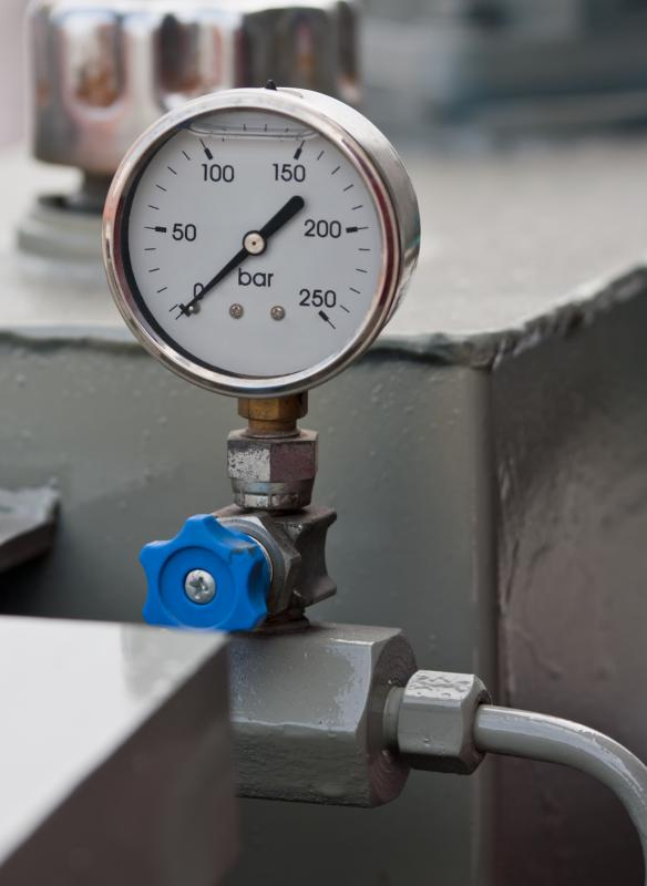Ball valves can be used to adjust the amount of gas or liquid that is flowing in a system.