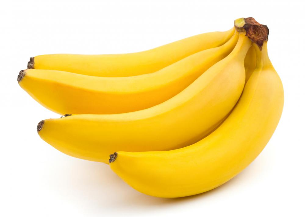 Bananas can be substituted for eggs in vegan cookies.