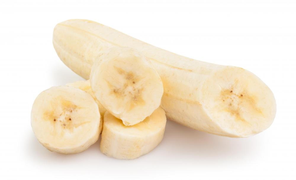 Bananas should be avoided when taking MAOI antidepressants.