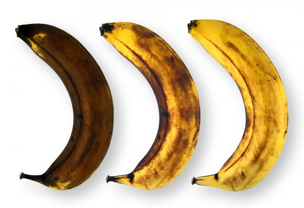 Over ripe bananas can be used for baking.