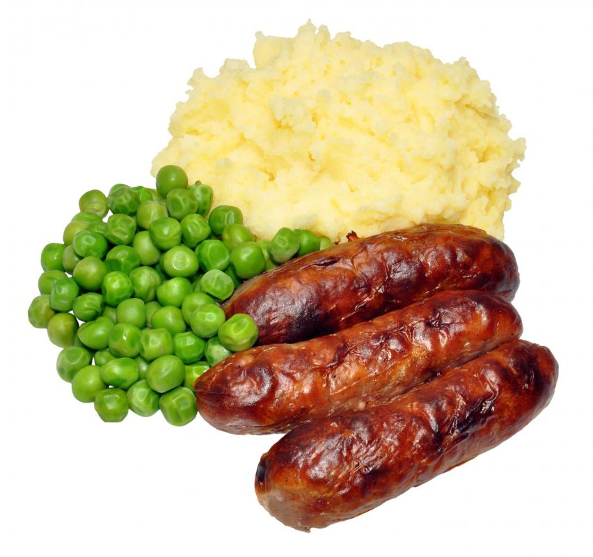 What Are Bangers and Mash? (with pictures)