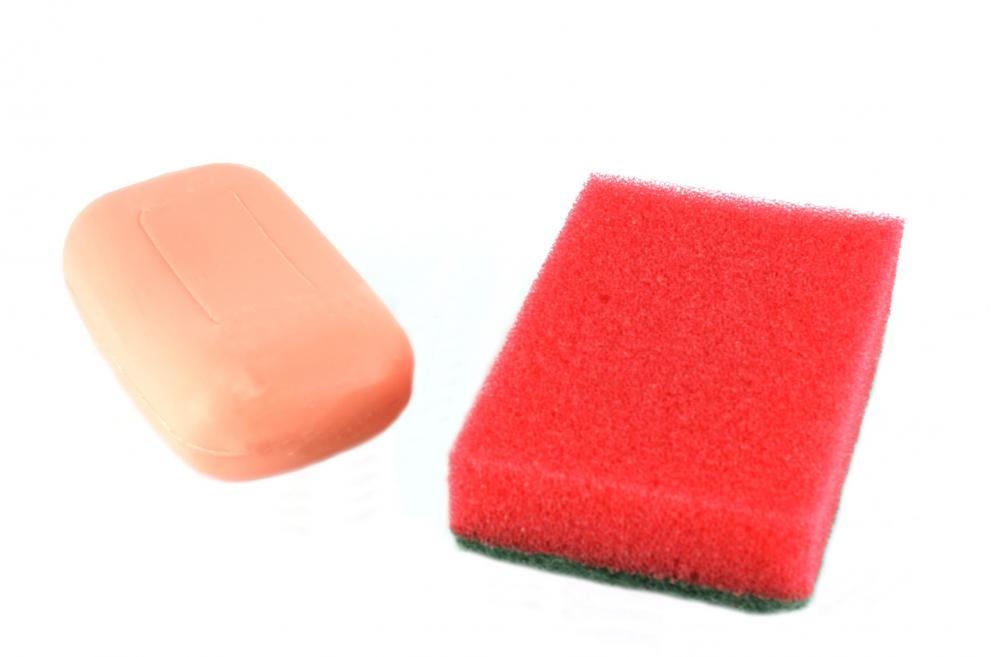 Carbolic soap is an effective disinfectant and powerful against most stains.
