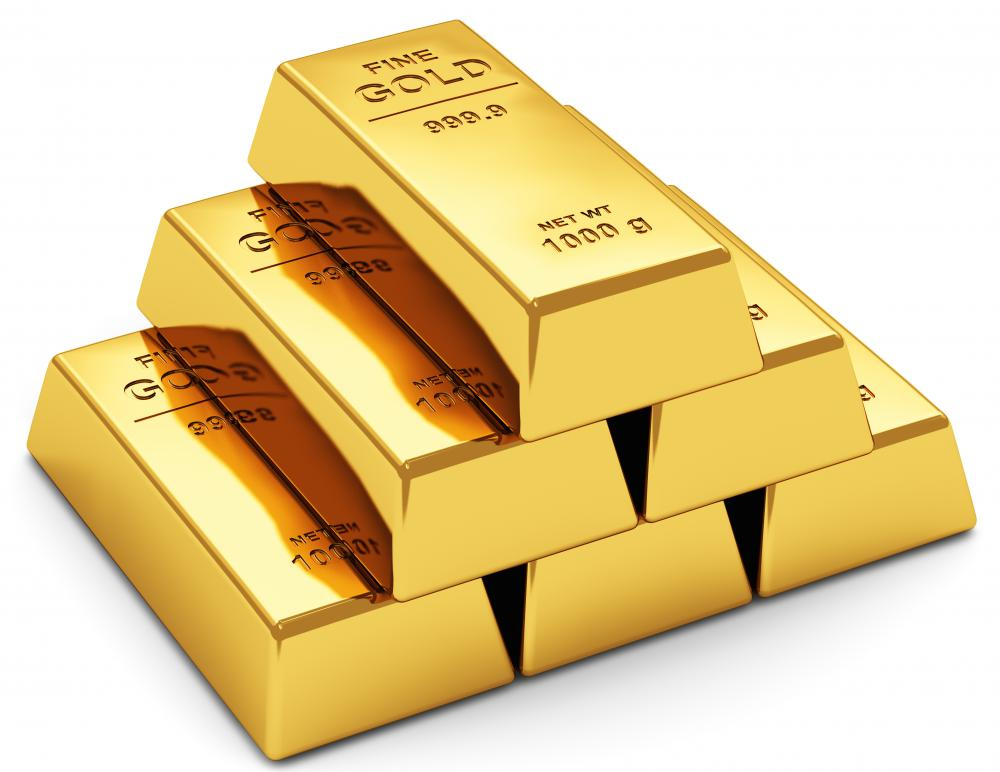 What are gold securities with pictures - Picture of bars ...