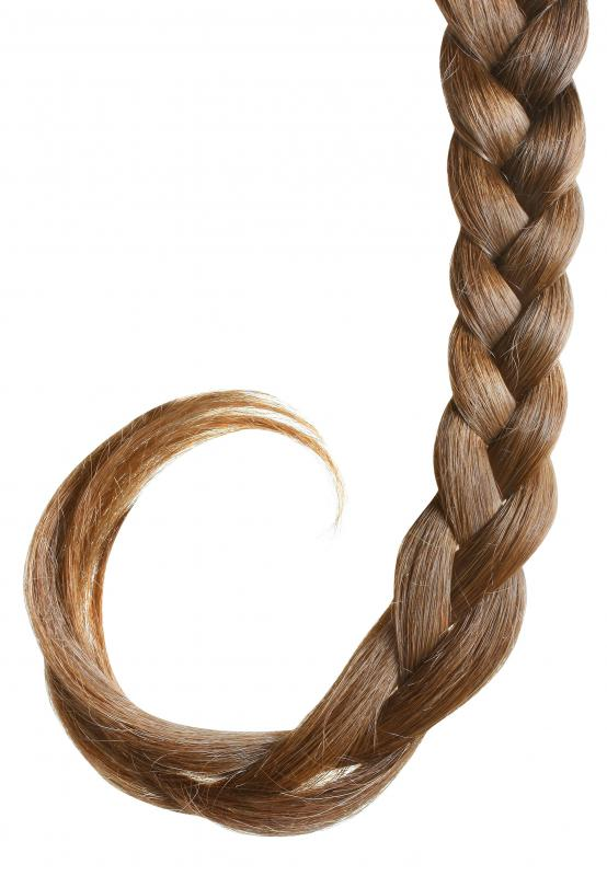 How Do I Braid Hair Extensions With Pictures