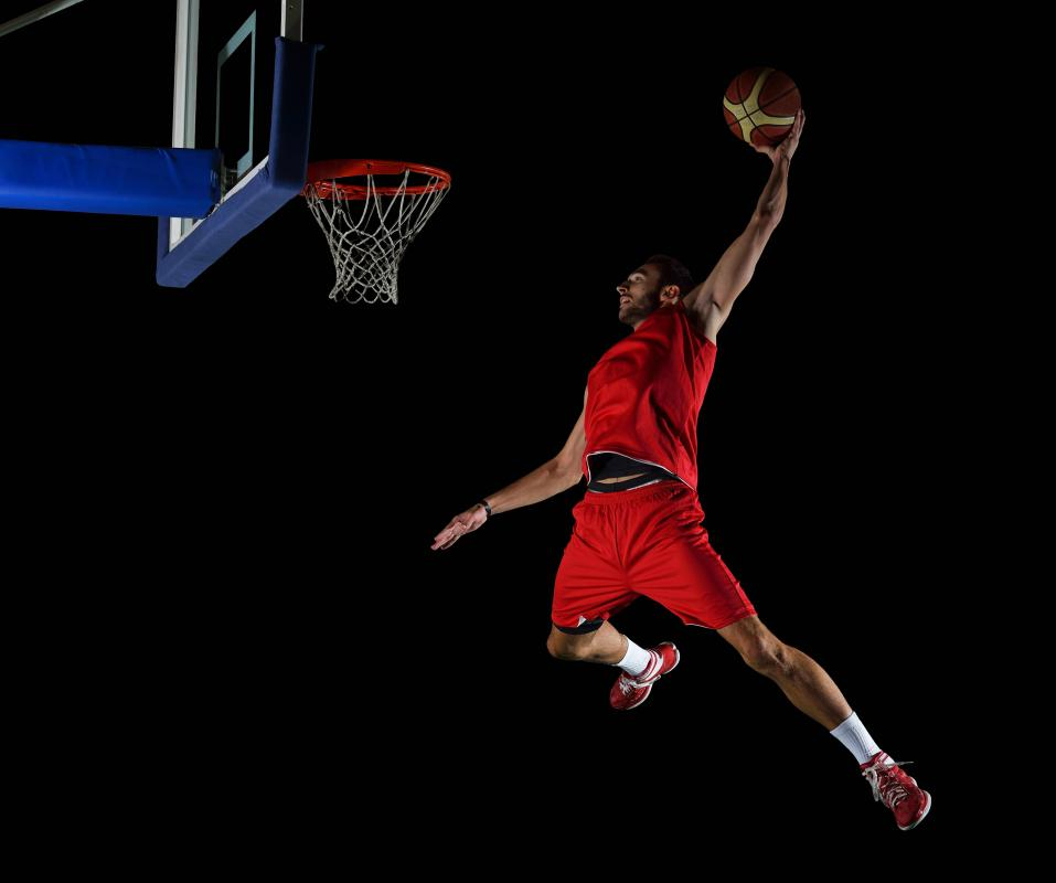 Basketball plyometrics help players improve their jumping ability.