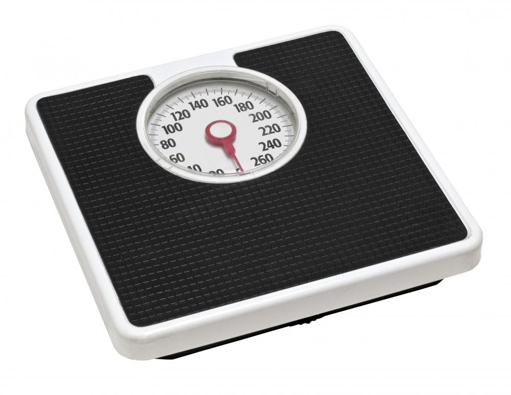 An Mechanical Bathroom Scale