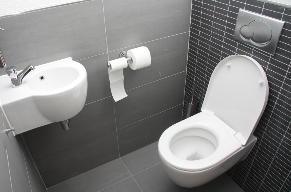 Tiled Floors And Walls Are Easier To Clean In Restrooms. Part 55