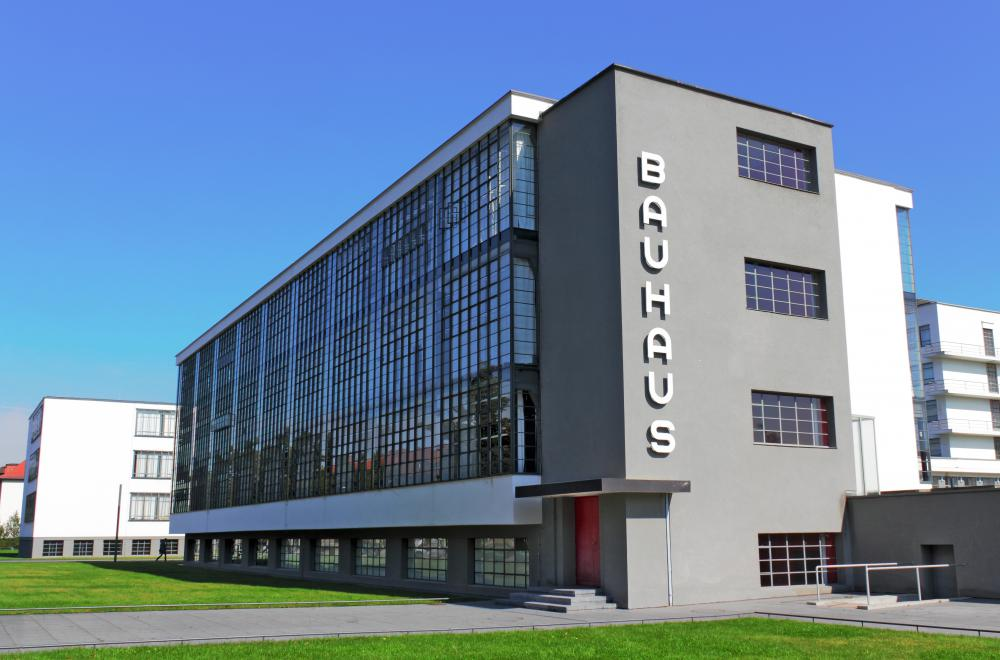 The Bauhaus School, in Germany, had a major influence on modern architecture.