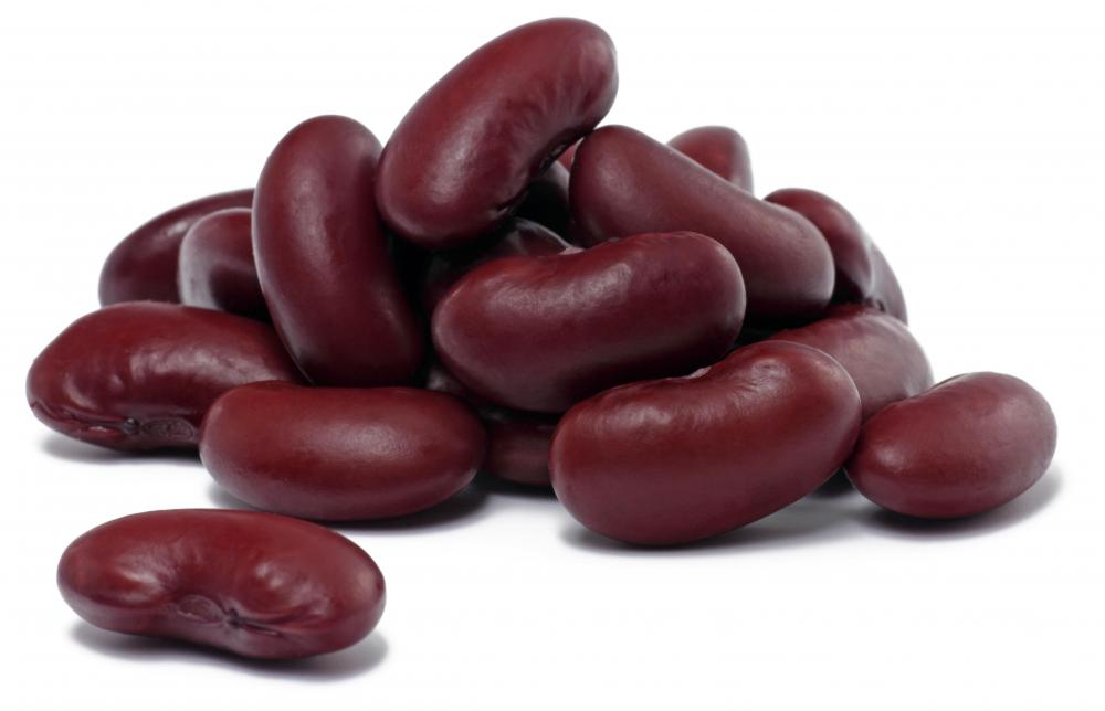 Kidney beans, which are often included in three bean salad.