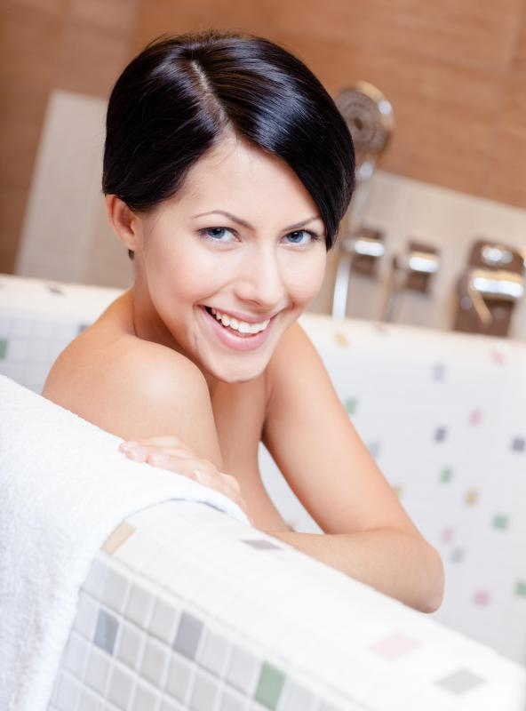 Skin brushing is best performed after a bath or shower.