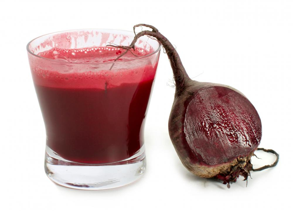 Beat juice is a popular healthy juice.