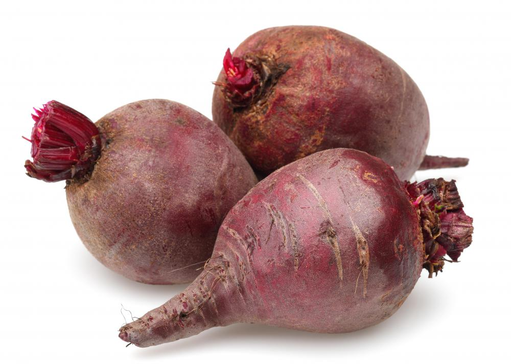 Ripened beets can be pulled from a field using a beet harvester.
