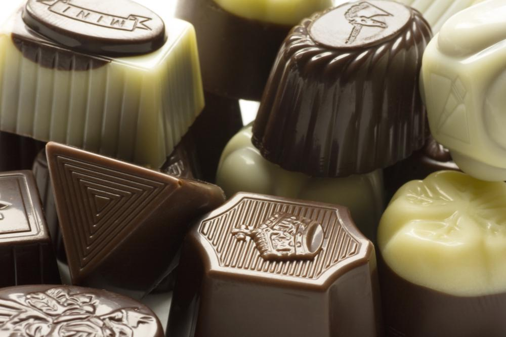 Fine chocolates make a good hostess gift.