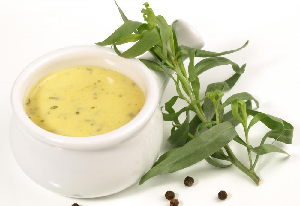 In French cuisine, Bernaise sauce uses the herb tarragon.
