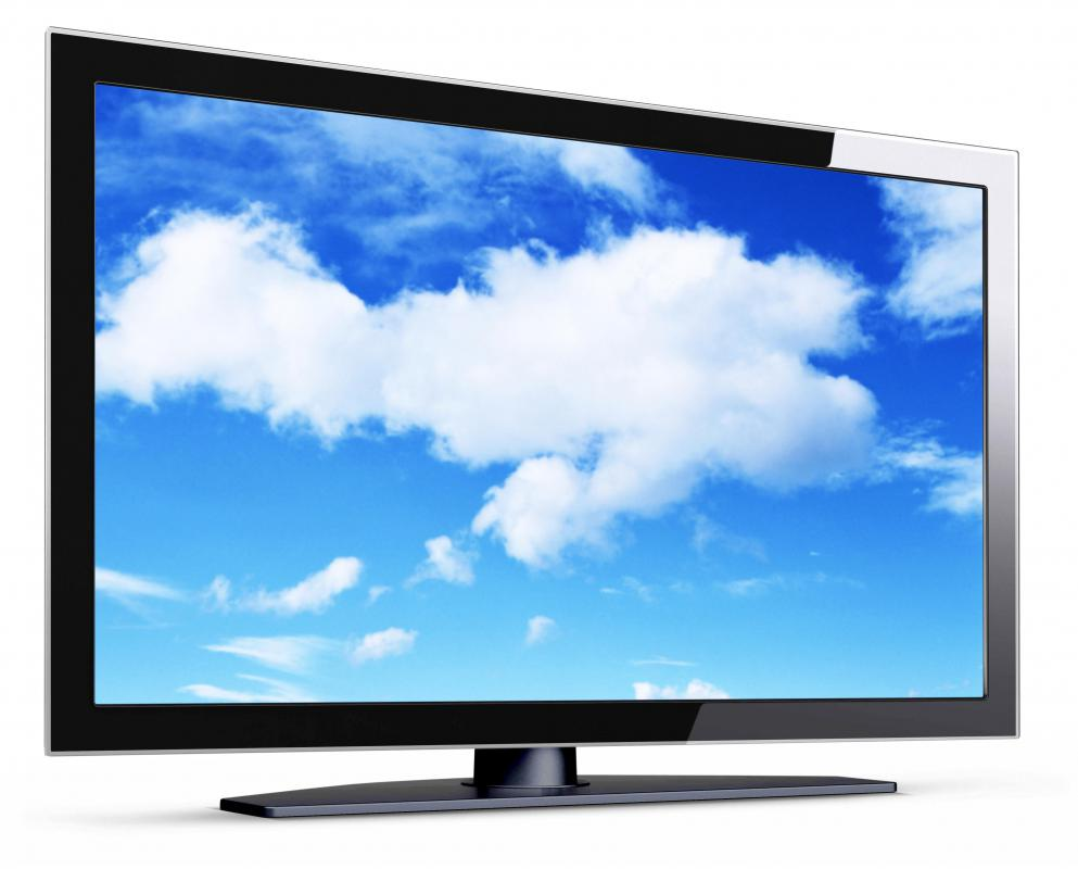 Flat screen televisions are often lit with LED backlights.