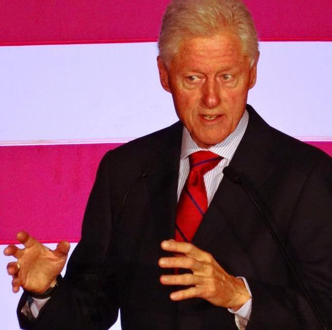 Former U.S. President Bill Clinton is known to sometimes play the saxophone.
