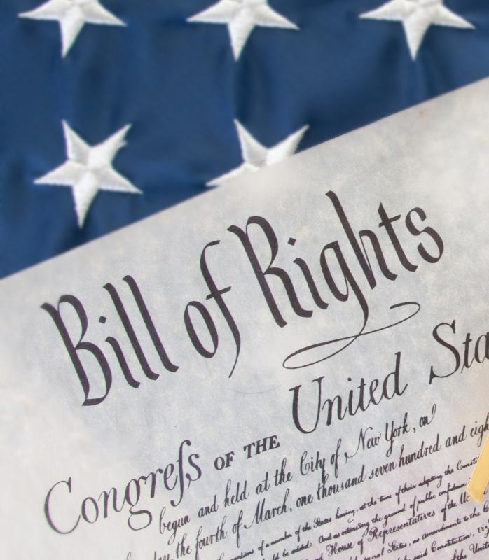 the personal rights guaranteed in the first amendment of the us constitution Transfer of excess judiciary personal  to the five pillars of the first amendment and your rights to  first amendment, us constitution.
