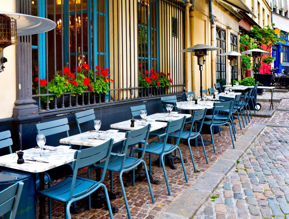 Bistro Chairs May Be Used Both Indoors And In Outdoor Settings.