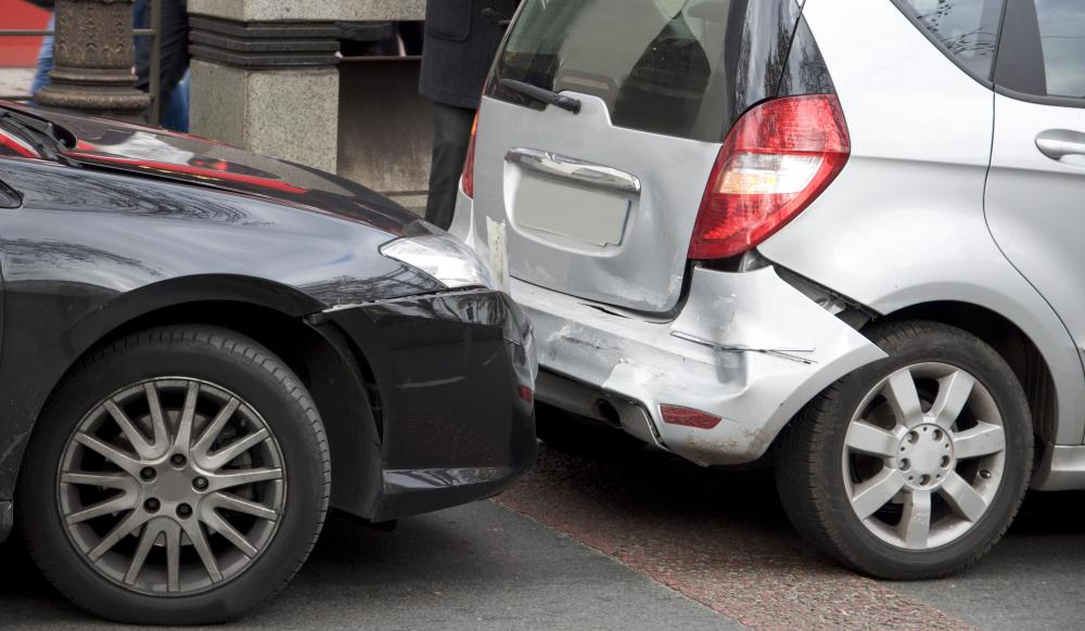 Careless driving tickets may result from a vehicle collision.