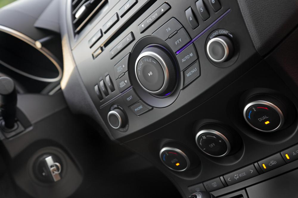 Make sure the car you choose has the features you need, such as a CD player rather than a casette tape deck.