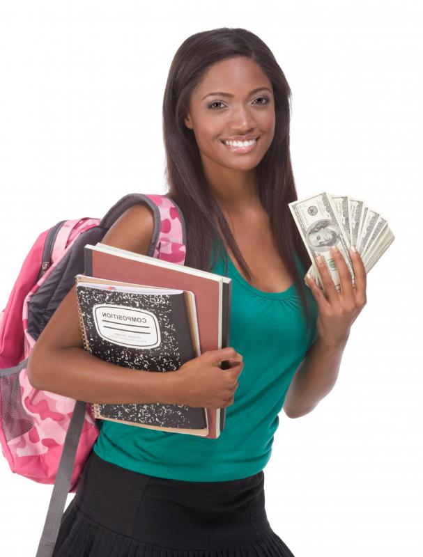 Scholarships are generally awarded to undergraduate students to help cover the cost of completing their education.